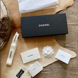 Authentic Chanel Bundle of 8 Empty Box Gift Set